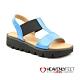 【HEAVENLY FEET】英國舒適品牌素色工字鬆緊帶休閒涼鞋-RITZ product thumbnail 1