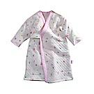 三層棉厚保暖純棉護手長睡袍 b0113 魔法Baby