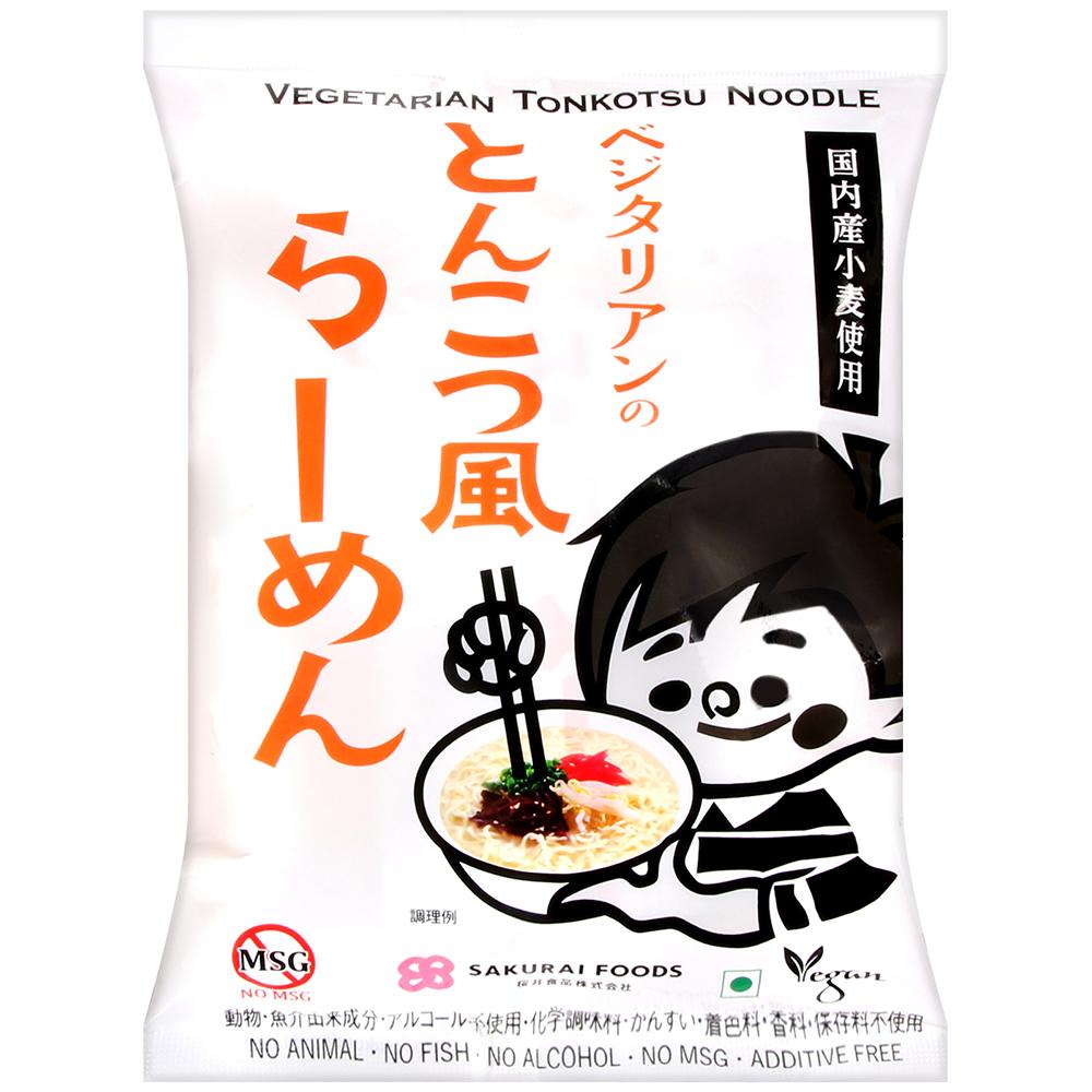 桜井食品 MSG無添加拉麵-豚骨風味(106g)