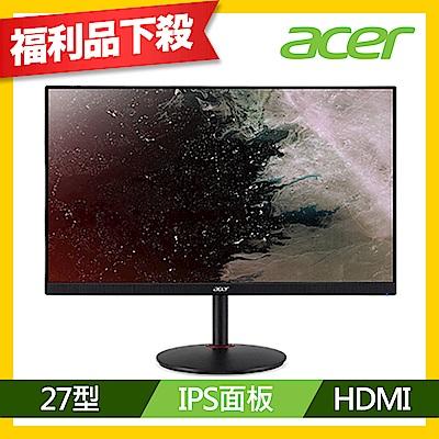 Acer XV272 P 27型 IPS無邊框極速電競螢幕 福利品