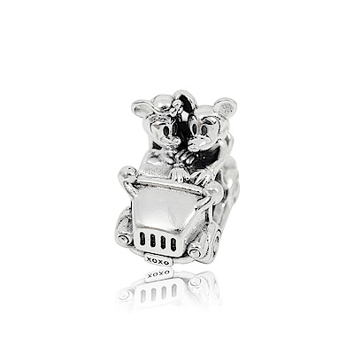 Pandora 潘朵拉 米奇米妮老爺車 純銀墜飾 串珠