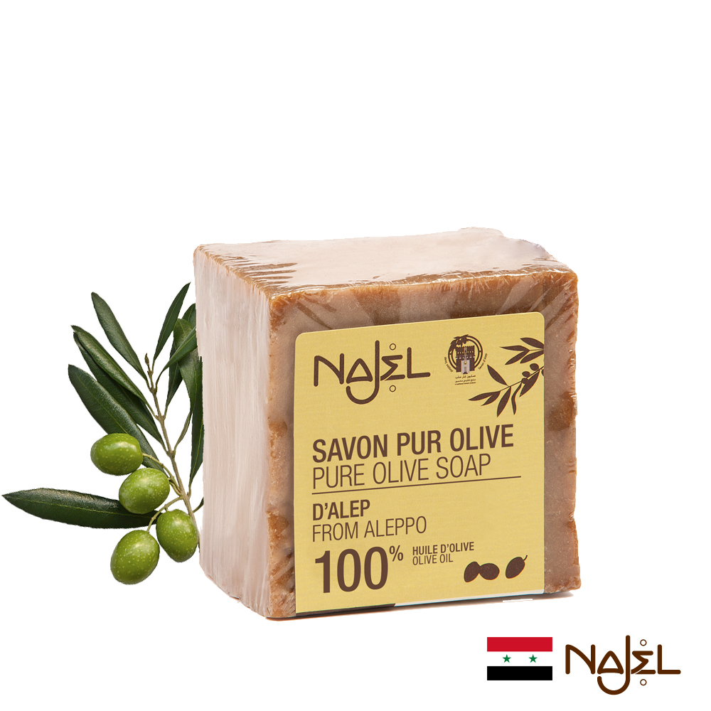 正宗敘利亞NAJEL初榨橄欖阿勒坡皂200g