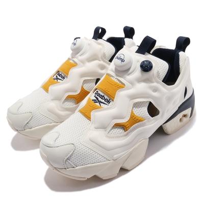 Reebok 休閒鞋 Instapump Fury OG 男女鞋 經典款 充氣科技 舒適避震 情侶穿搭 卡其 黃 GY5304