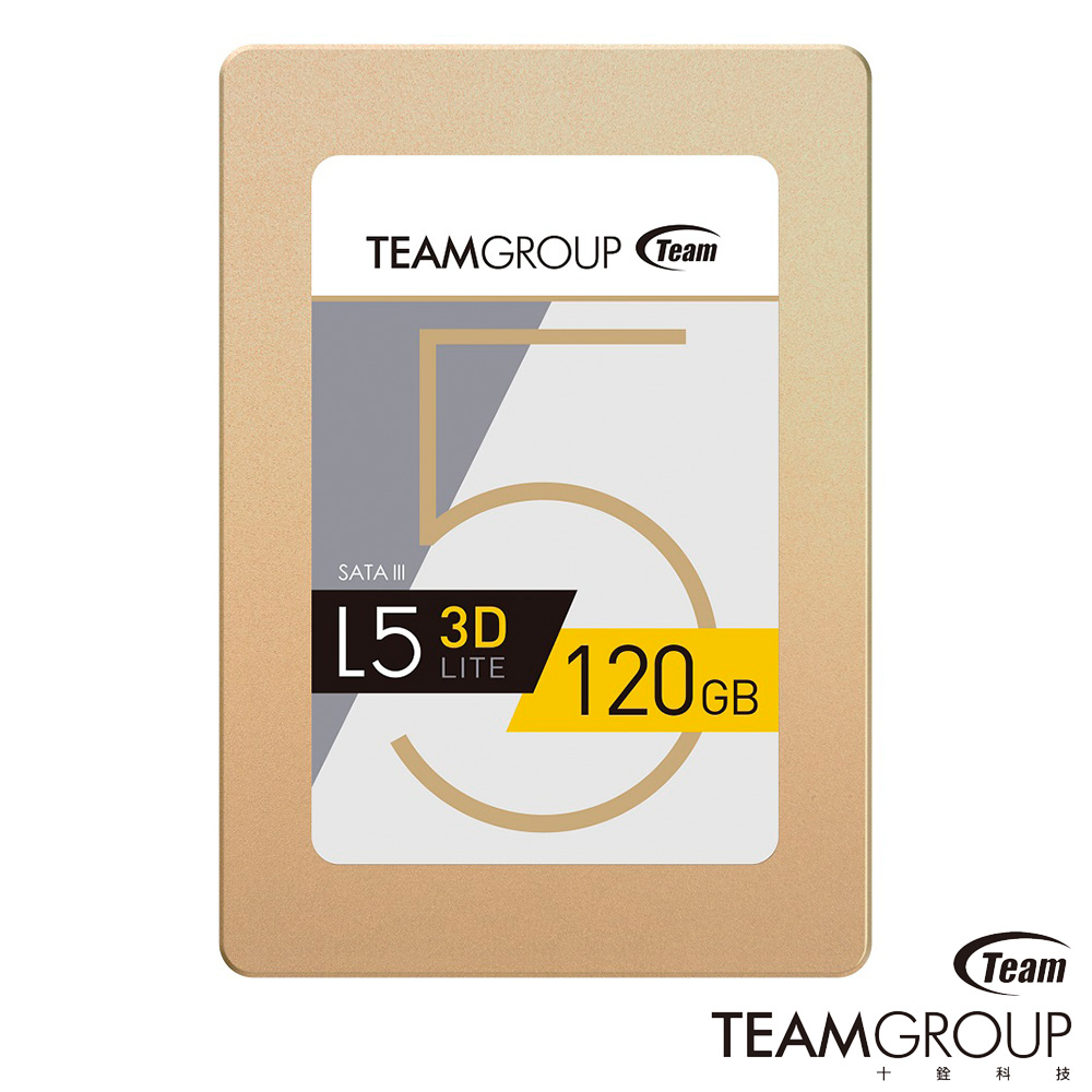 TEAM十銓 L5 Lite 3D 120GB 2.5吋 SSD固態硬碟