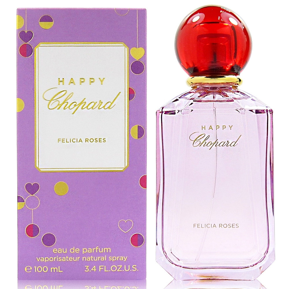 HAPPY CHOPARD 蕭邦 Felicia Roses 費利西亞玫瑰淡香精 100ml