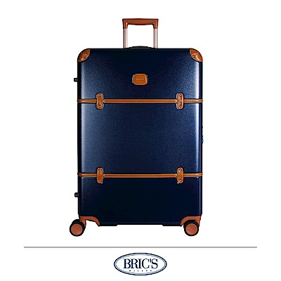 BRICS 義大利經典款 30吋 防潑水拉鍊箱 藍色 飛機輪