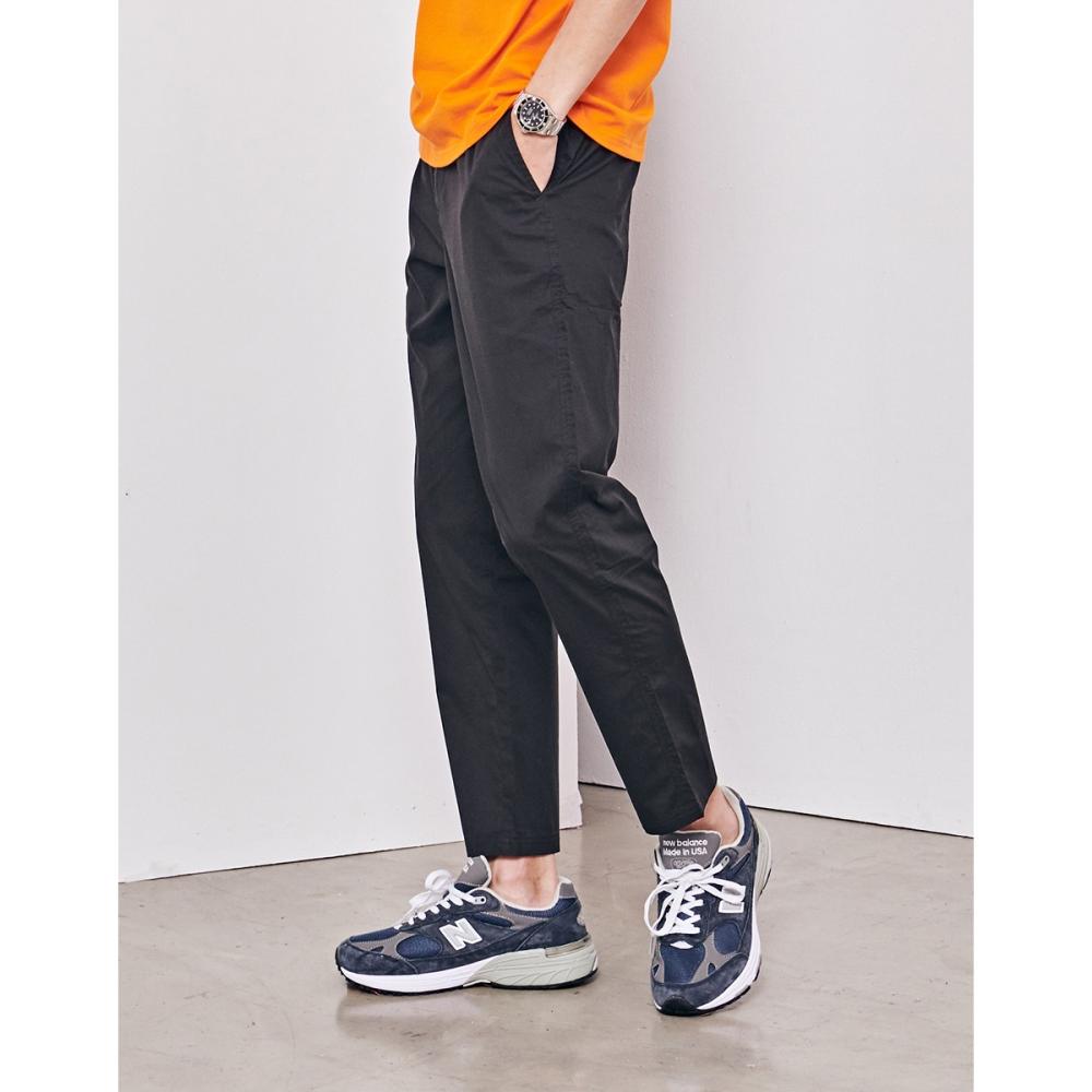 NAVY-輕薄款反折褲(兩色)-男【SNA092】