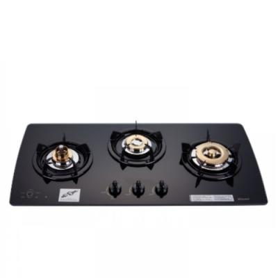 (全省安裝)林內美食家三口檯面爐黑色與白色瓦斯爐桶裝瓦斯RB-3GMB_LPG