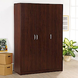 《HOPMA》DIY巧收三門衣櫥-寬119 x深49.5 x高180cm