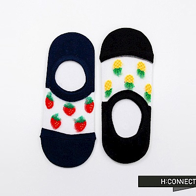 H:CONNECT 韓國品牌 -水果圖像短襪組