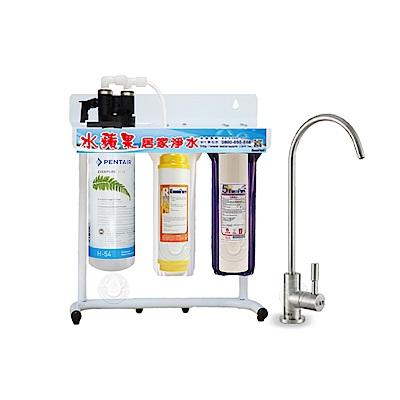 水蘋果公司貨 EVERPURE QL3-H54 三道式淨水器