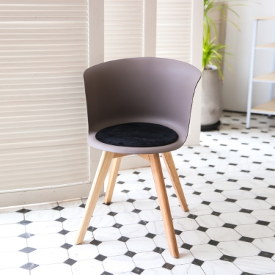 完美主義 設計款北歐風杯子椅/餐椅/休閒椅/辦公椅/化妝椅(5色)