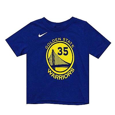 NIKE 幼兒短袖T恤 勇士隊 Kevin Durant
