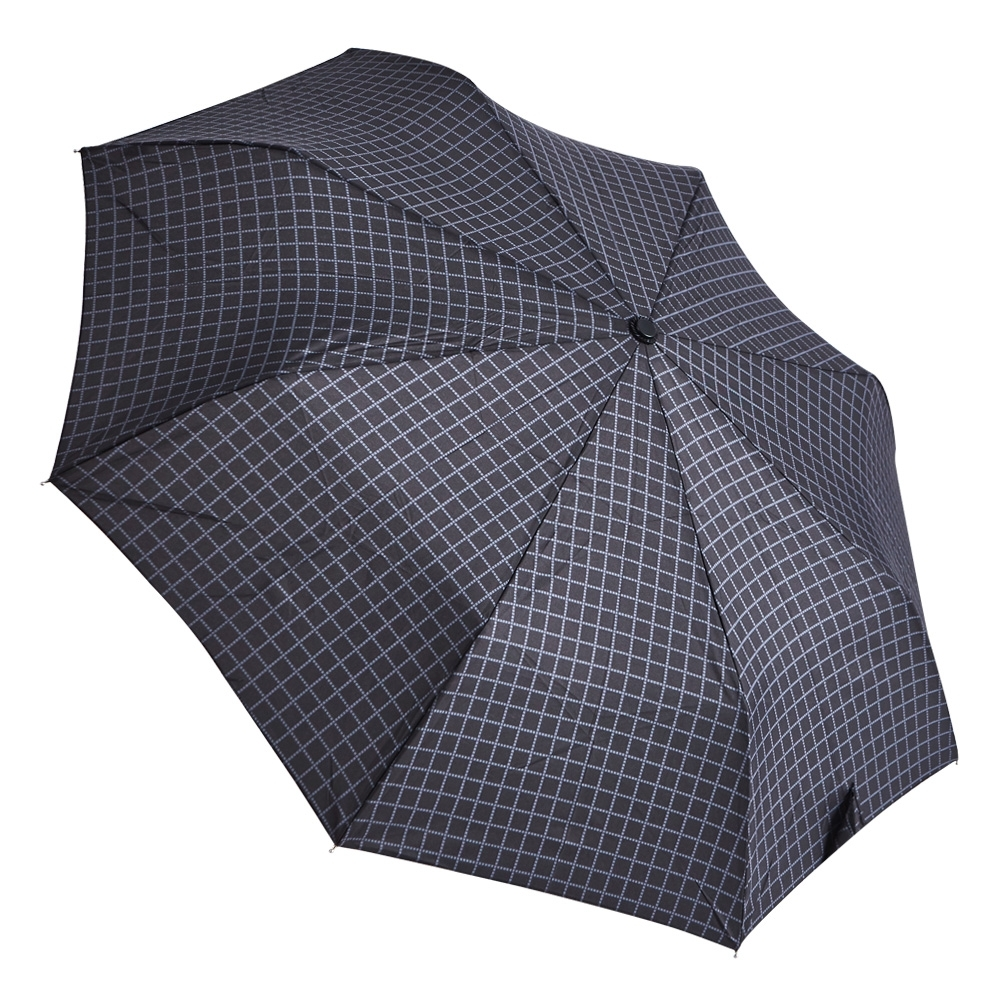 RAINSTORY復刻黑方格抗UV隨身自動傘