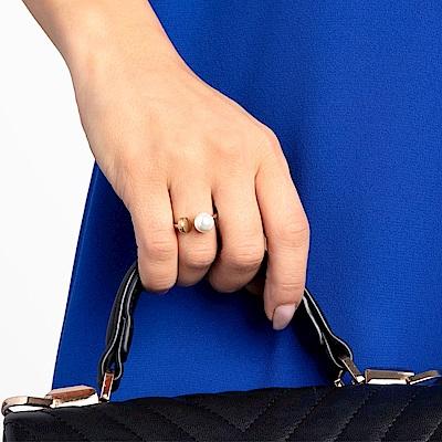 CALVIN KLEIN Bubbly 系列珍愛香檳金戒指-8