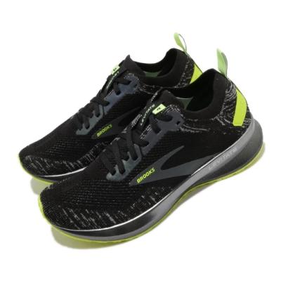 Brooks 慢跑鞋 Levitate 4 Run 女鞋 路跑 緩震 DNA科技 透氣 健身 球鞋 黑 黃 1203351B013