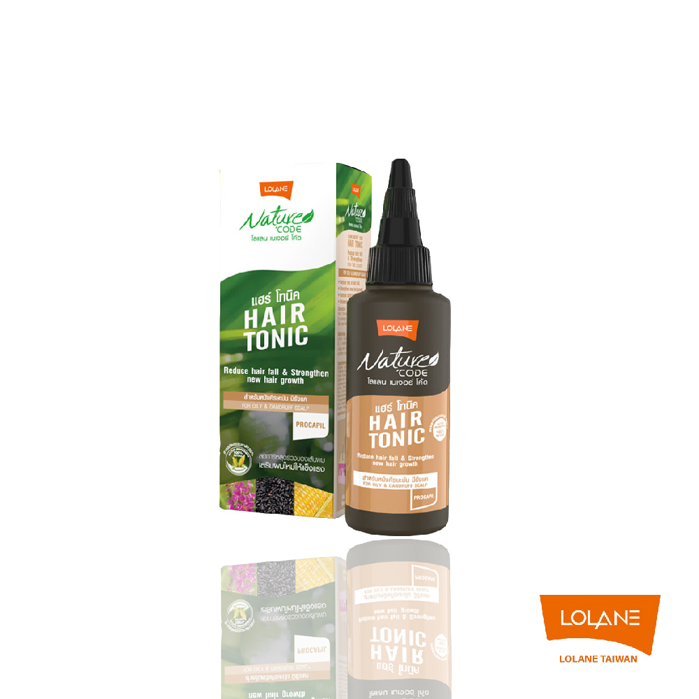 Nature Code自然髮典舒敏淨養液-油性和頭皮屑頭皮 100ml