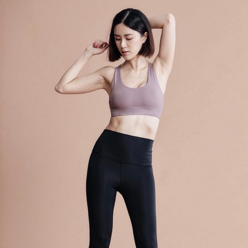 APRIL MINT Los Angeles Vivi Power Legging 翹臀塑身 纖腿高彈 吸濕排汗 立體塑型 瑜珈/慢跑/健身瑜伽機能褲