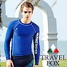 夏之戀TRAVEL FOX 大男長袖衝浪上衣
