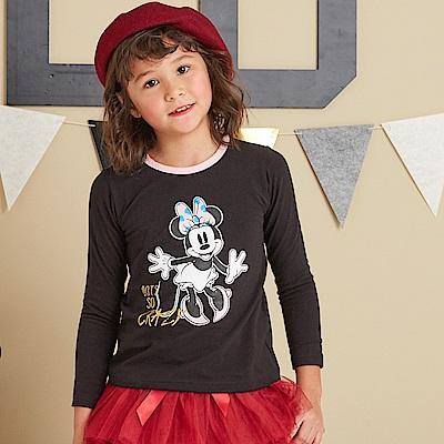 Disney 米妮系列歡樂塗鴨上衣(共2色)