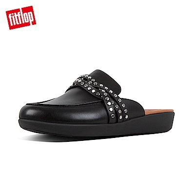 FitFlop SERENE時尚穆勒鞋黑色
