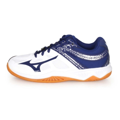 MIZUNO THUNDER BLADE 2男排球鞋- 白丈青銀