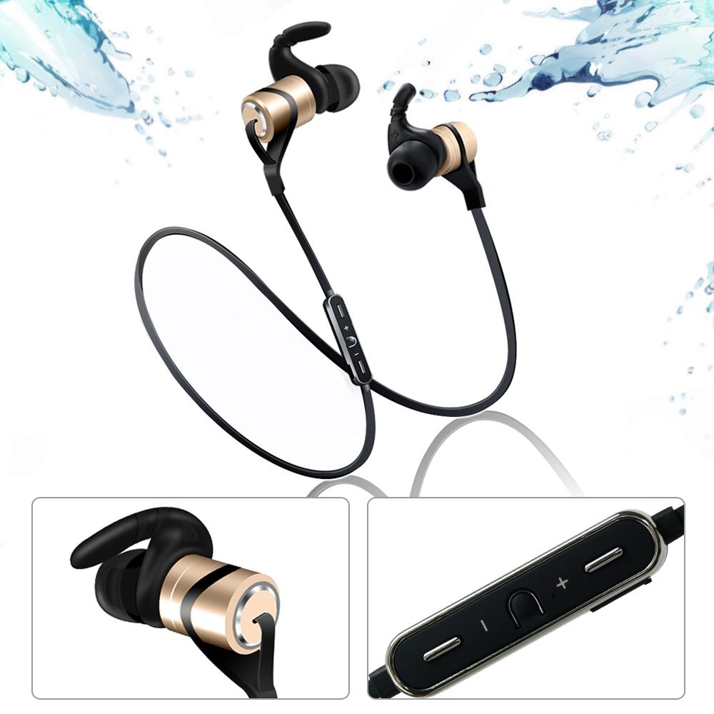 YANG YI 揚邑 YS006 磁吸立體聲入耳式鋁合金藍芽耳機-金色