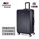 【AA 美國飛行家】24吋-NY紐約系列鑽紋抗刮超輕量行李箱(尊爵黑) product thumbnail 1