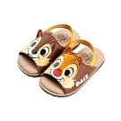 迪士尼童鞋 奇奇蒂蒂 立體大臉鬆緊帶涼鞋