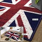 范登伯格 - 奧斯頓 進口地墊+踏墊 - 英國國旗 二入組