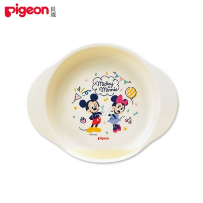 【任選】日本《Pigeon 貝親》迪士尼餐盤(米奇&米妮)