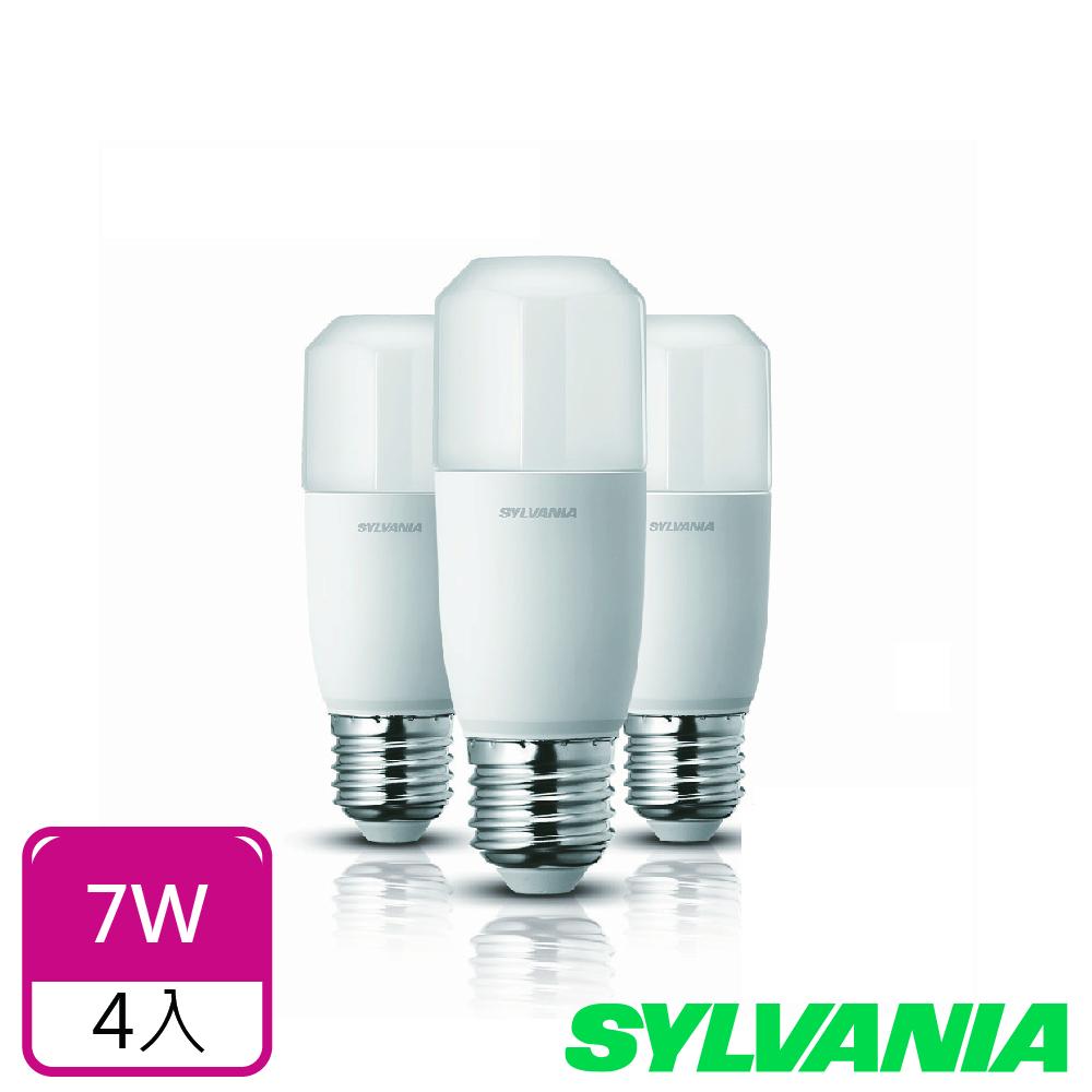 喜萬年SYLVANIA 7W LED小小冰極亮燈泡- 4入組