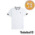 Timberland 男款白色Solid短袖POLO衫