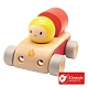 【德國 classic world 客來喜經典木玩】萌趣造型車-消防車 53603 product thumbnail 1
