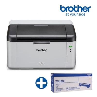 Brother HL-1210W 無線黑白雷射印表機 +TN-1000原廠碳粉匣超值組