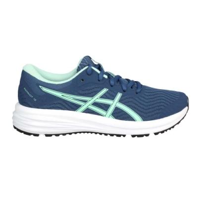 ASICS PATRIOT 12 女慢跑鞋-路跑 輕量 運動 亞瑟士 1012A705-400 珊瑚藍粉綠