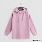 Hang Ten -女裝 - 純色抽繩帽T - 粉