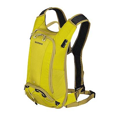 【SHIMANO】UNZEN 6L 自行車水袋背包 橄欖暖黃