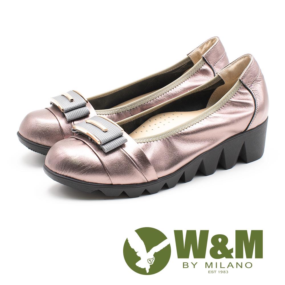 W&M (女)平行厚底娃娃鞋-古銅金(另有黑)