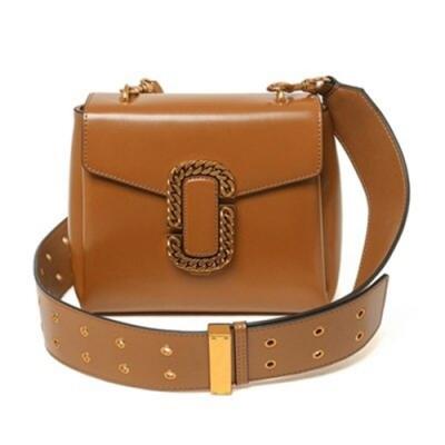 米蘭精品 單肩包真皮側背包-歐美時尚復古小方女包情人節生日禮物3色73oa14