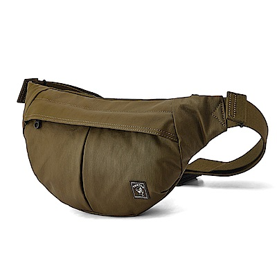 PORTER - 秘境探險FREELAND個性休閒腰包 - 茶褐