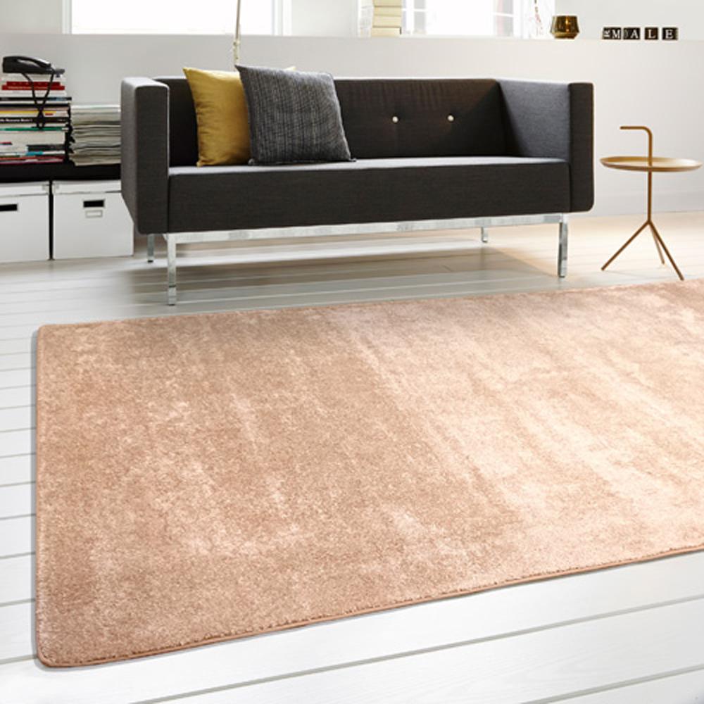 范登伯格 - 芙柔 超柔軟仿羊毛地毯 - 卡其 (140 x 200cm)
