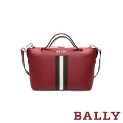 BALLY SUPRA BOWLING 手提斜背二用包-紅