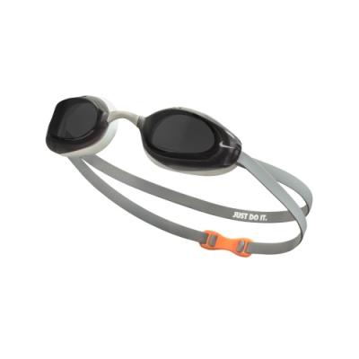 NIKE 成人 泳鏡 專業型 VAPOR 灰 NESSA177-014 (男女泳鏡)