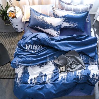 3-HO 雪紡棉 單人床包/枕套 二件組 翻轉世界