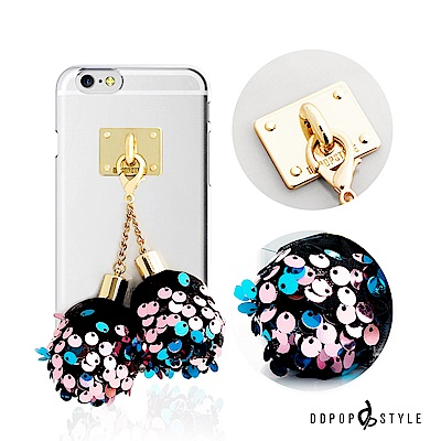 DDPOP iPhone 7 Plus 韓流明星手機殼 派對彩球吊飾款