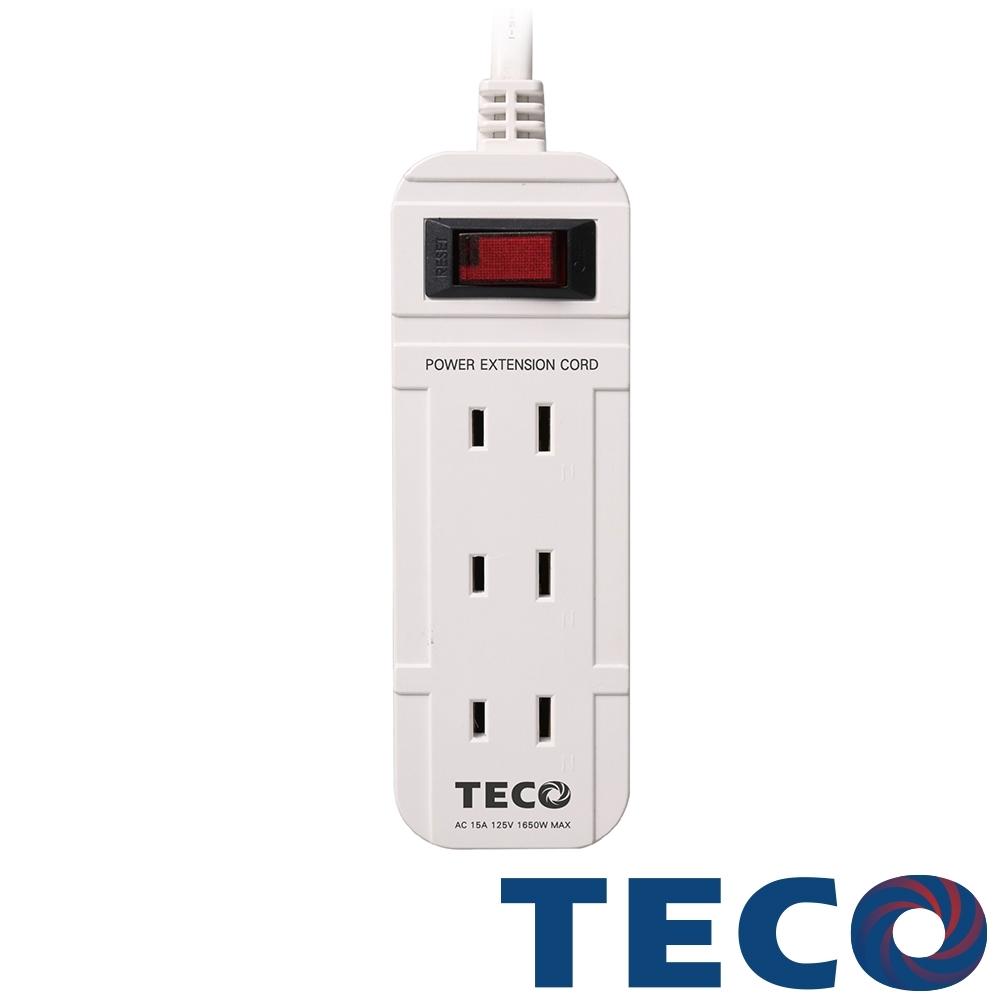 TECO東元 一開三插轉接電源線組 XYFWL213T9