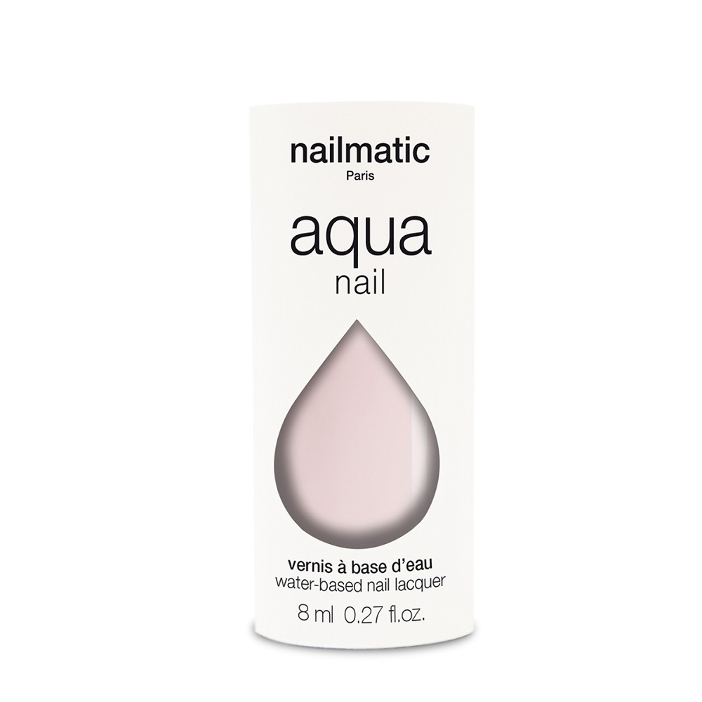 法國 Nailmatic 水系列經典指甲油 - Sakura 透亮櫻花粉 - 8ml