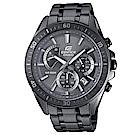EDIFICE俐落有型賽車儀表板概念設計腕錶(EFR-552GY-8)灰色IP離子47mm