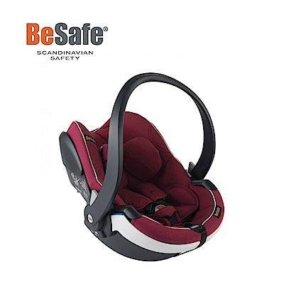 BeSafe 0-12個月 ISOfix 新生兒提籃 白飾邊系列 最新I-Size標準(勃艮第紅)
